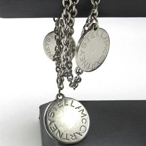 Stella McCartney Triple Chain Logo Bracelet